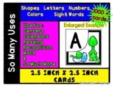 Mama & Baby Dinosaur  - 1000 + Cards for Activity Bin / Ga