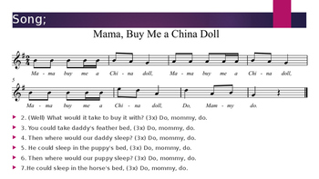 Mama Buy Me a China Doll