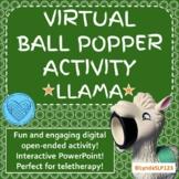 Mama Llama Virtual Popper Interactive PowerPoint