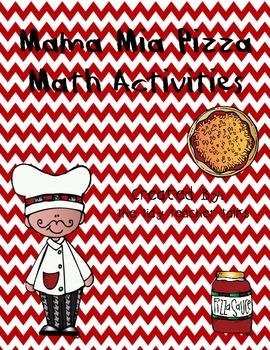 Mama Mia Pizza Math Activities