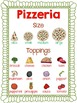 Mama Mia!  Pizza Words for Vocabulary, Writing and Dramatic Play
