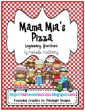 Mama Mia's Pizza {beginning fractions} FREEBIE