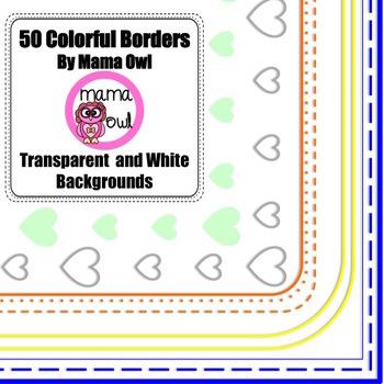 Mama Owl Borders Bundle 1