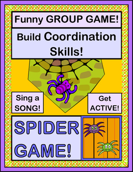 """""""Spider Game!"""" - Halloween Group Game and Song"""