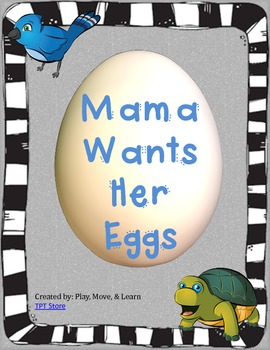 Mama Wants Her Eggs - Beginning Sound Picture Matching Activity