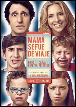 Mamá se fue de viaje. Película Argentina de Disney. 10 days without mom