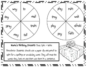 Mama's Birthday Present Games