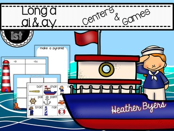 Long a: ai & ay Centers and Games