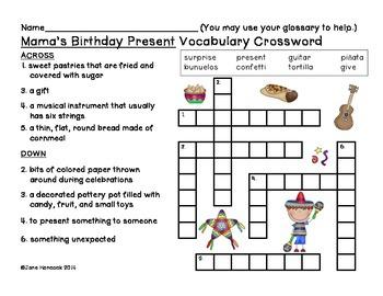 Mama's Birthday Present Skills Packet (Scott Foresman Reading Street)