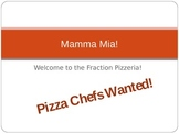 Mamma Mia! Fraction Pizzas