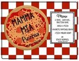Mamma Mia Pizzeria-Math Activities