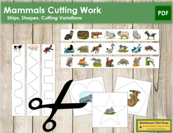 Mammal Cutting Strips