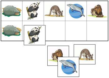 Mammal Match-Up and Memory