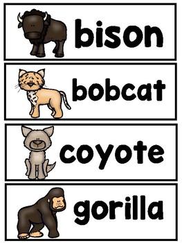 Mammal Mega Bundle  (Emergent Reader, Lap Book, and Vocabulary Word Cards)