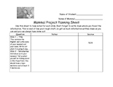 Mammal PowerPoint Planning Sheet and Rubric