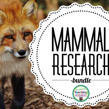 Mammal Research Bundle