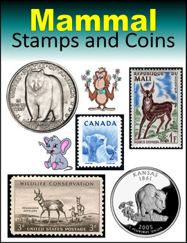 Mammal Stamps and Coins