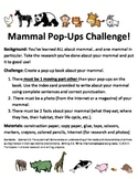 Mammal Unit STEM Project/CC Aligned