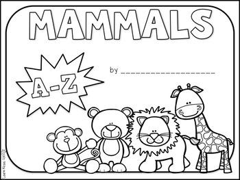 Mammals A-Z Book