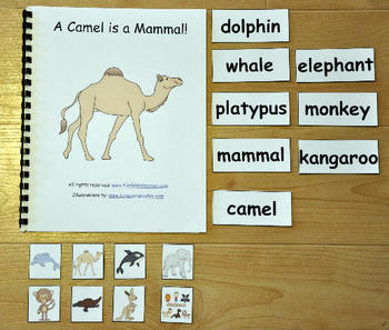 Mammals Adapted Books Unit