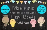 Mammals Around the World Head Bands Game - Grades K-3