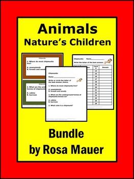 Animals Nature's Children Bundle