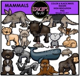 Mammals Clip Art Bundle {Educlips Clipart}