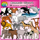 Mammals Clipart (Animals)