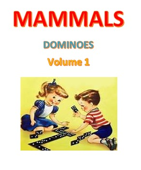 Mammals Dominoes Volume 1