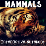 Mammals Interactive Notebook