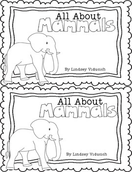 Mammals Literacy Centers