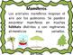 Mammals Mamiferos-Bilingual Stars Mrs Partida