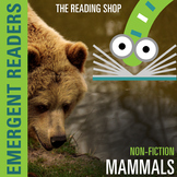 Mammals Nonfiction Reading Book and Animal Sort