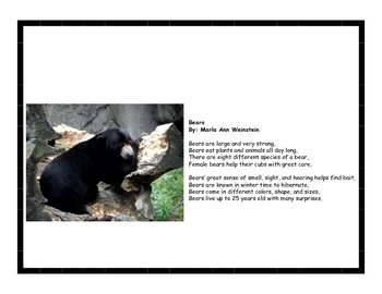 Mammals Poetry Pack