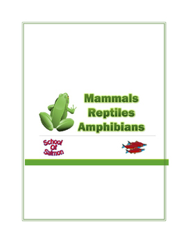 Mammals, Reptiles, and Amphibians Lesson Plan