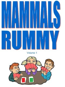 Mammals Rummy Volume 1