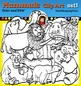 Mammals clip art set1 - color and B&W-