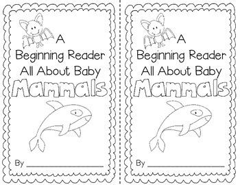 Mammals for the Beginning Reader