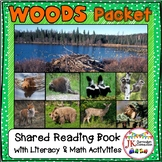 Woods Animals Literacy and Math Packet