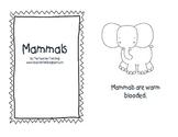 Mammals reader