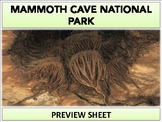Mammoth Cave National Park : Project Materials