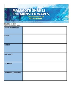 Mammoth Shakes and Monster Waves Comprehensive Study Guide