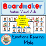 Man / Adult Emotion Feelings Cards - Boardmaker Visual Aids for Autism