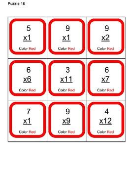 Man B Multiplication Puzzle