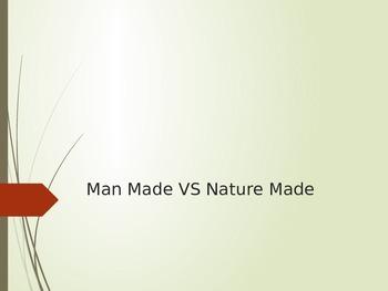 Man Made Vs Nature Made