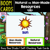 Man-Made vs Natural Resources | Boom Cards