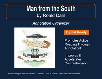 """Man from the South"" by Roald Dahl: Annotation Organizer"