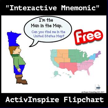 Man in the Map Activinspire Flipchart