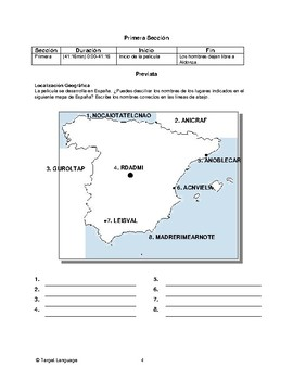 Man of La Mancha-Spanish Study Guide