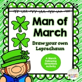 Man of March: A Following Directions Leprechaun Drawing Activity